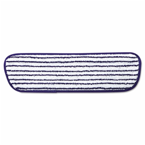 Rubbermaid Flat Mop Pad,Microfiber  FGQ80000WH00 Perspective: front