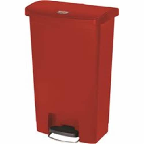 Rubbermaid Commercial Slim Jim Waste Container 1883566 Perspective: front