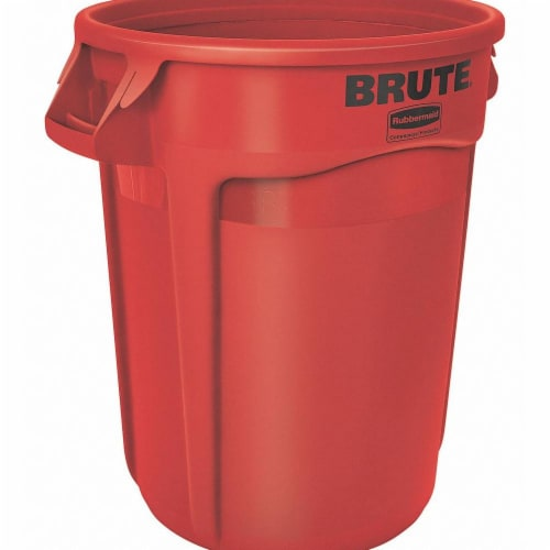 Rubbermaid Utility Container,20 gal.,Red  FG262000RED Perspective: front