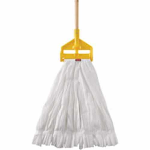 Rubbermaid Commercial Products Wet Mop,White Head,5  Headband Size  2025506 Perspective: front