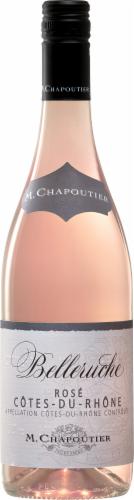 Chap Belleruche M. Chapoutier Rose Perspective: front