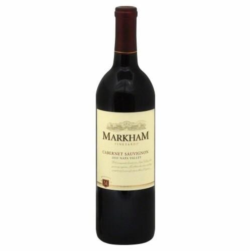 Markham Vineyards Cabernet Sauvignon Perspective: front