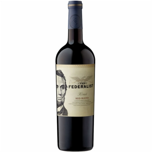 The Federalist Honest Red Blend Perspective: front