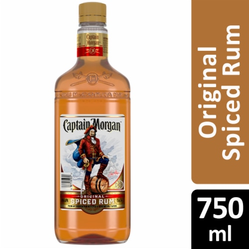 Captain Morgan Original Spiced Rum Perspective: front