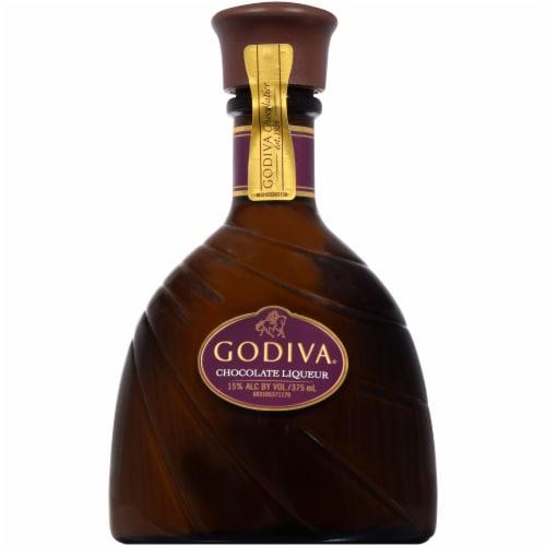 Godiva Chocolate Liqueur Perspective: front