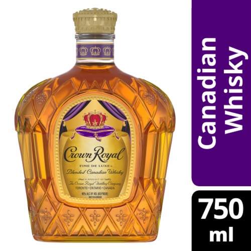 Crown Royal Blended Canadian Whisky Perspective: front