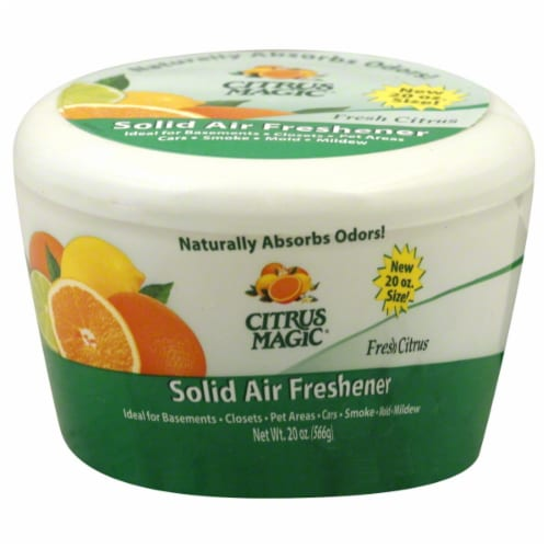 Citrus Magic Solid Air Freshener Perspective: front