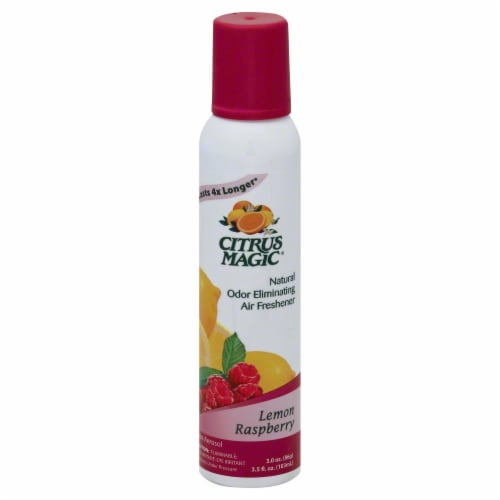 Citrus Magic Spray Lemon Raspberry Perspective: front