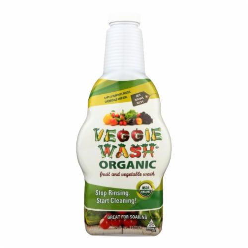 Citrus Magic Veggie Wash - Organic - Soaking Size Bottle - 32 oz - Pack of 3 Perspective: front