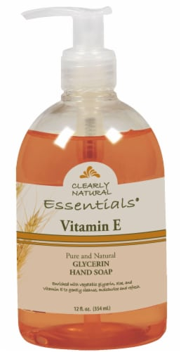 Clearly Natural Essentials Vitamin E Glycerin Hand Soap Perspective: front