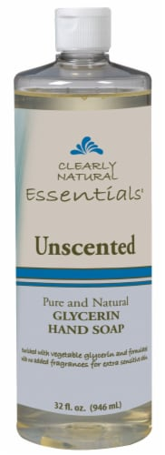 Clearly Natural Essentials Unscented Glycerin Hand Soap Perspective: front
