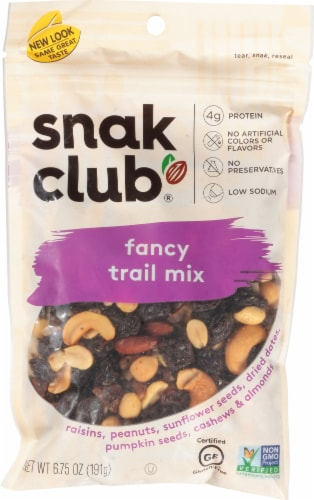Snak Club Fancy Trail Mix Perspective: front