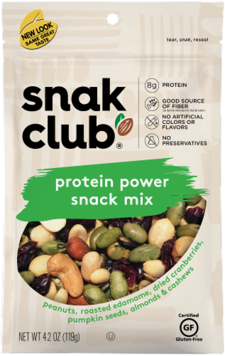 Snak Club Protein Power Snack Mix Perspective: front