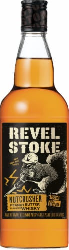 Revel Stoke Peanut Butter Flavored Whisky Perspective: front