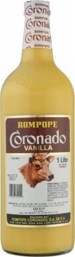 Coronado Rompope Vanilla Liqueur Perspective: front