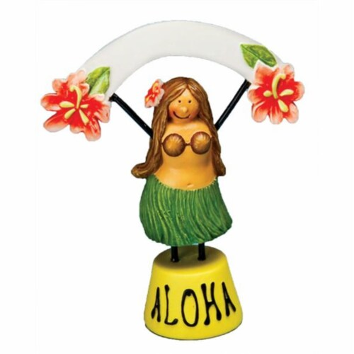 Costumes for all Occasions FF551743 Hula Girl Food -place Setter 3 Perspective: front
