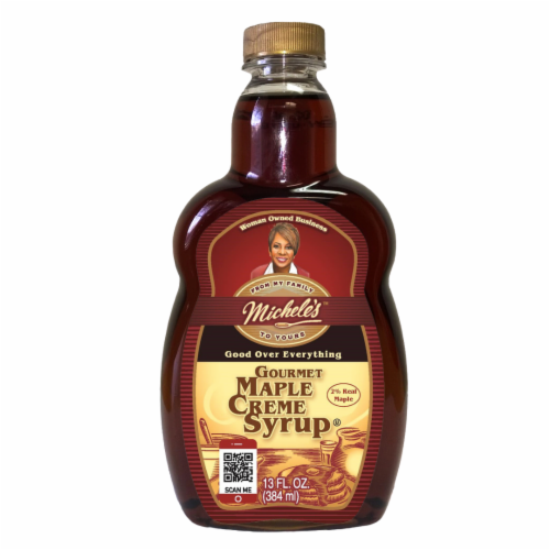 Michele's Maple Creme Syrup Perspective: front