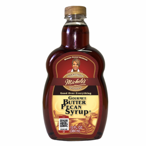 Michele's Butter Pecan Syrup Perspective: front