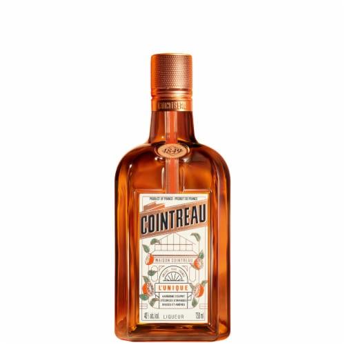 Cointreau Orange Liqueur Perspective: front