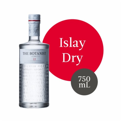 The Botanist Islay Dry Gin Perspective: front