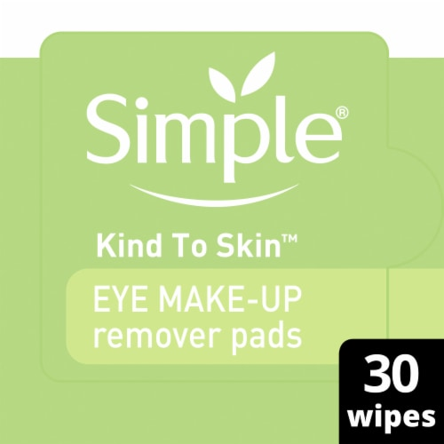 Simple Eye Make-Up Remover Pads Perspective: front