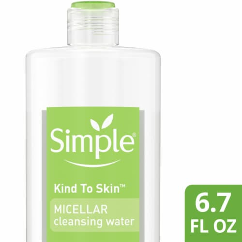 Simple Kind to Skin Micellar Cleansing Water Perspective: front