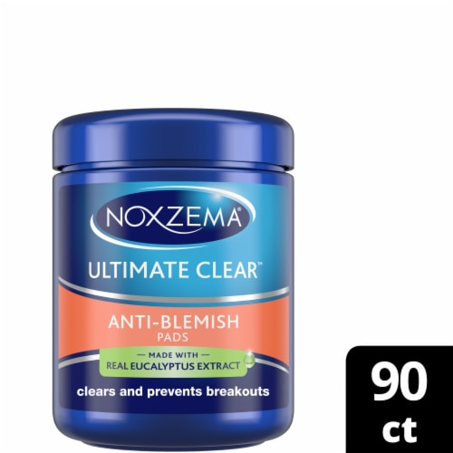 Noxzema Ultimate Clear Anti-Blemish Pads Perspective: front