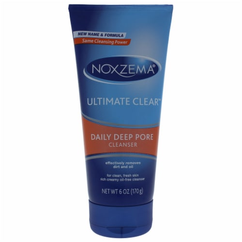 Noxzema Ultimate Clear Daily Deep Pore Cleanser Perspective: front