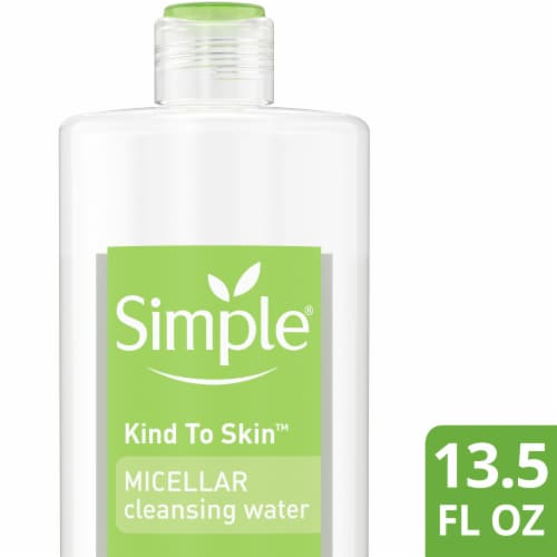 Simple Micellar Cleansing Water Perspective: front