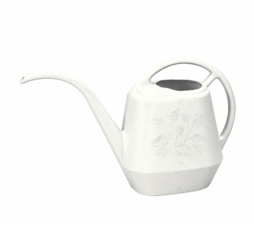 Bloem LLC Aqua Rite Watering Can - White Perspective: front