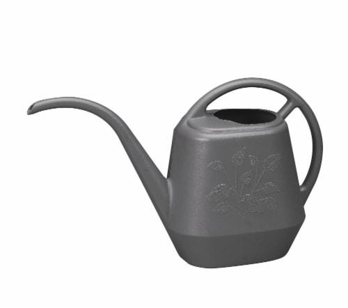 Bloem LLC Aqua Rite 144 oz. Watering Can - Charcoal Perspective: front