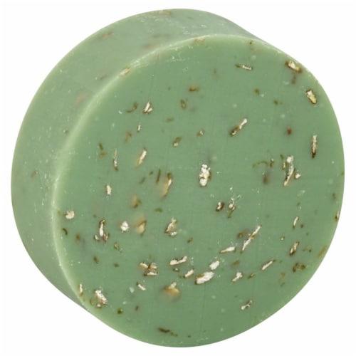 Sappo Hill Soapworks Aloe Oatmeal Glycerin Soap Bar Perspective: front