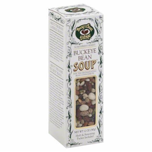 Buckeye Beans & Herbs Buckeye Bean Soup Mix Perspective: front