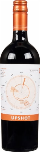 R Strong Upshot Red Blend Perspective: front