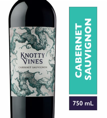 Knotty Vines Cabernet Red Wine Perspective: front