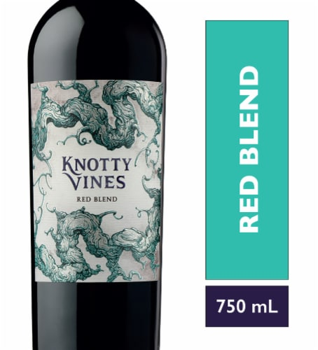 Knotty Vines Red Blend Perspective: front