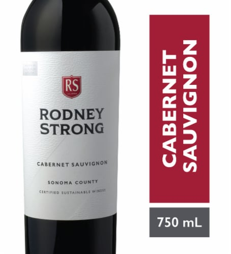 Rodney Strong Cabernet Sauvignon Red Wine Perspective: front