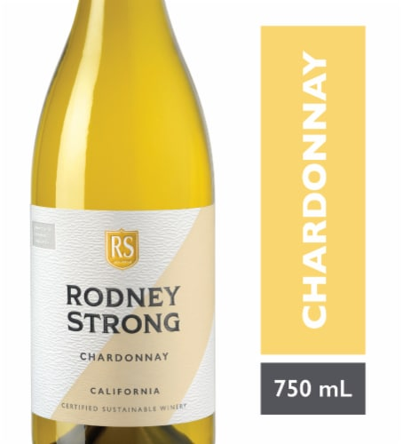 Rodney Strong Chardonnay White Wine Perspective: front