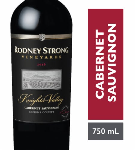 Rodney Strong Knights Valley Cabernet Sauvignon Perspective: front