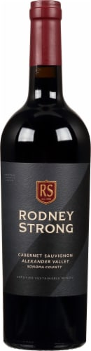 Rodney Strong Alexander Valley Cabernet Sauvignon Perspective: front