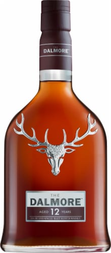 The Dalmore 12 Year Scotch Whisky 750ml Perspective: front