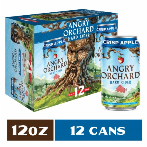 Angry Orchard Crisp Apple Hard Cider Perspective: front