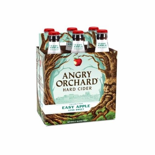 Angry Orchard Easy Apple Hard Cider Perspective: front