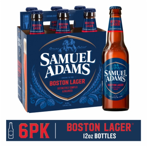 Samuel Adams Boston Lager Perspective: front