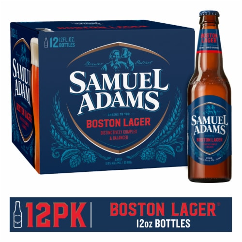 Samuel Adams Boston Lager Perspective: front