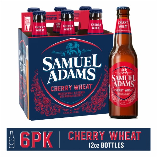 Samuel Adams Cherry Wheat Ale Perspective: front