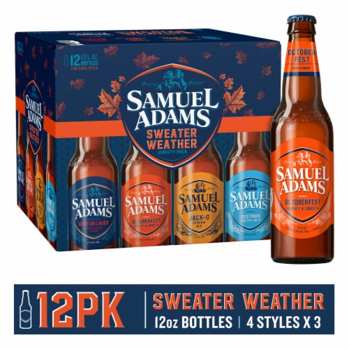 Samuel Adams Winter Classics Variety Pack Perspective: front