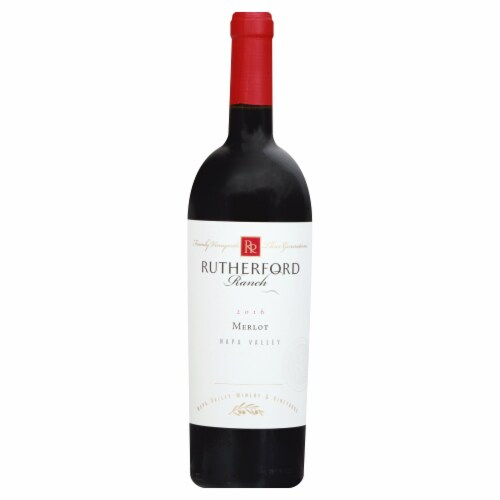 Rutherford Ranch Napa Valley Merlot Perspective: front