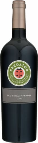 Predator Old Vine Zinfandel Perspective: front