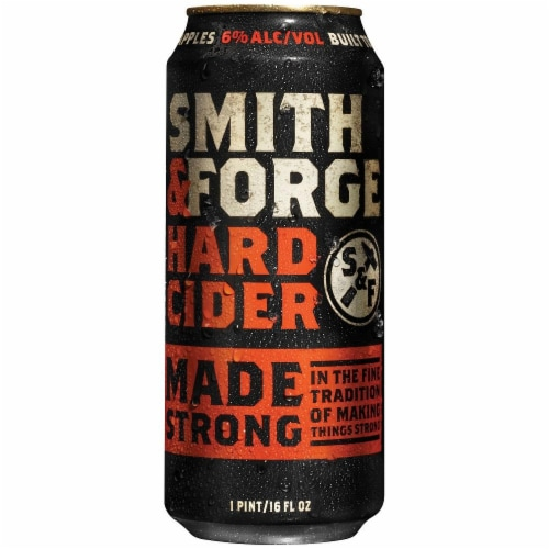 Smith & Forge Hard Cider Perspective: front